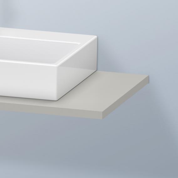 Duravit DuraStyle Konsole für 1 Aufsatz-/Einbauwaschtisch betongrau matt