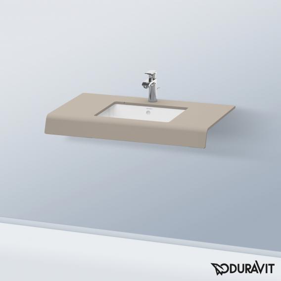 Duravit DuraStyle Konsole für 1 Aufsatz-/Einbauwaschtisch basalt matt