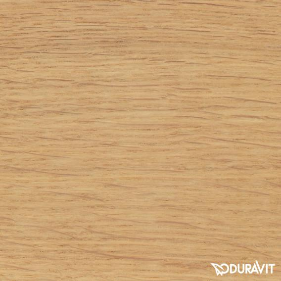 Duravit DuraStyle Möbel-Accessoire Ablage Korpus europäische eiche / Ablage weiß matt