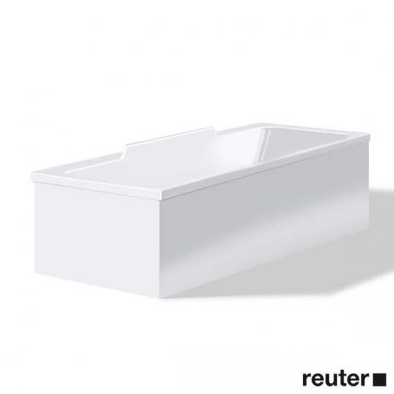 Duravit DuraStyle Möbelverkleidung für Bade-/Whirlwanne, Vorwandversion weiß