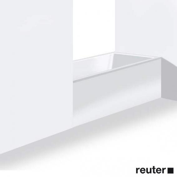Duravit DuraStyle Möbelverkleidung für Bade-/Whirlwanne, Nische weiß