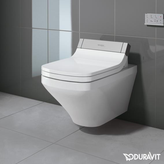 Duravit DuraStyle Wand-Tiefspül-WC für SensoWash®, verlängerte Ausführung mit Spülrand, weiß