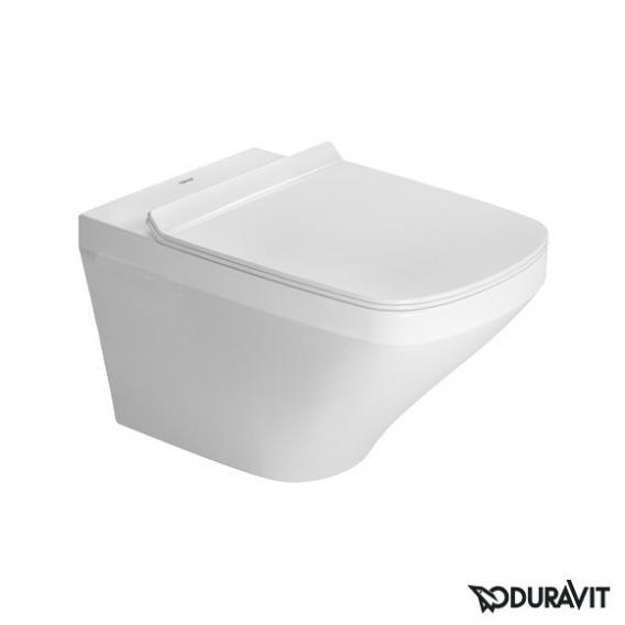 Duravit DuraStyle Wand-Tiefspül-WC Set, mit WC-Sitz ohne Spülrand, weiß