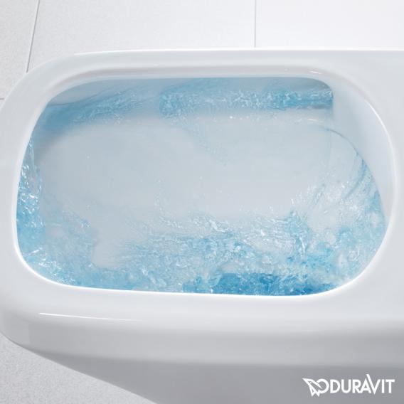 Duravit DuraStyle Wand-Tiefspül-WC, rimless für SensoWash® weiß mit WonderGliss
