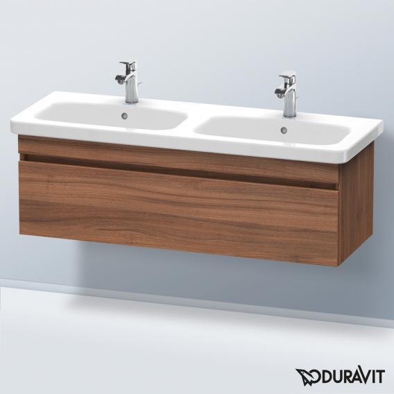 Duravit Durastyle Waschtischunterschrank mit 1 Auszug für Doppelwaschtisch Front nussbaum natur / Korpus nussbaum natur