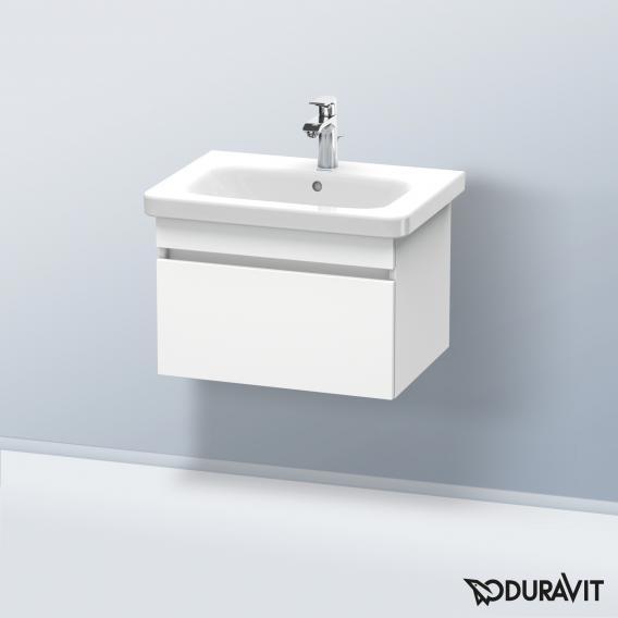 Duravit DuraStyle Waschtischunterschrank mit 1 Auszug Front weiß matt / Korpus weiß matt