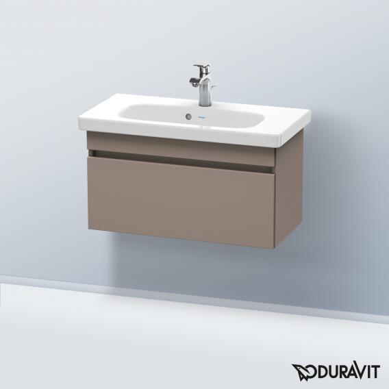 Duravit DuraStyle Waschtischunterschrank mit 1 Auszug Front basalt matt / Korpus basalt matt
