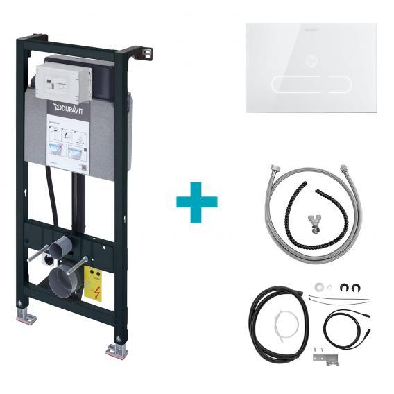 Duravit DuraSystem A2 Set für Starck f Dusch-WC, H: 114,8 cm, Hygienespülung integriert