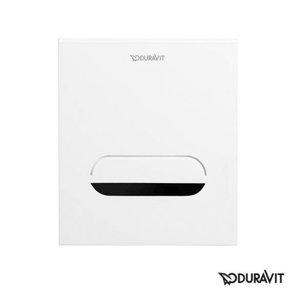 Duravit DuraSystem Betätigungsplatte A2 für Urinal, mit IR Sensor, Netzteil weiß/weiß