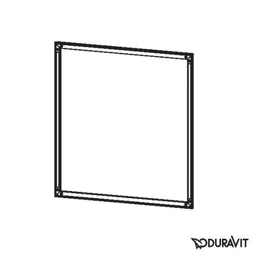 Duravit Einbaurahmen für L-Cube Spiegelschrank