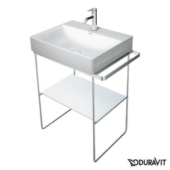 Duravit Glaseinleger für DuraSquare Metallkonsolen für Waschtische weiß