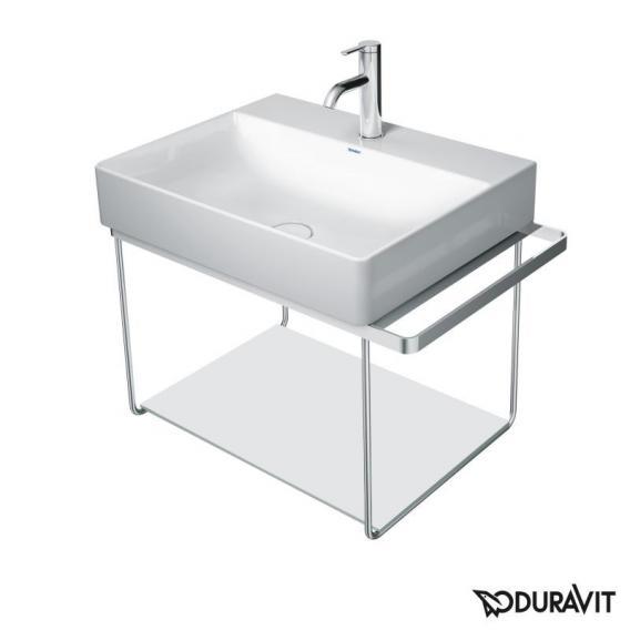 Duravit Glaseinleger für DuraSquare Metallkonsolen für Waschtische Compact weiß