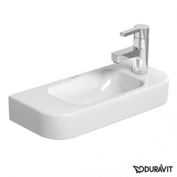 Duravit Happy D.2 Handwaschbecken weiß, mit 1 Hahnloch rechts