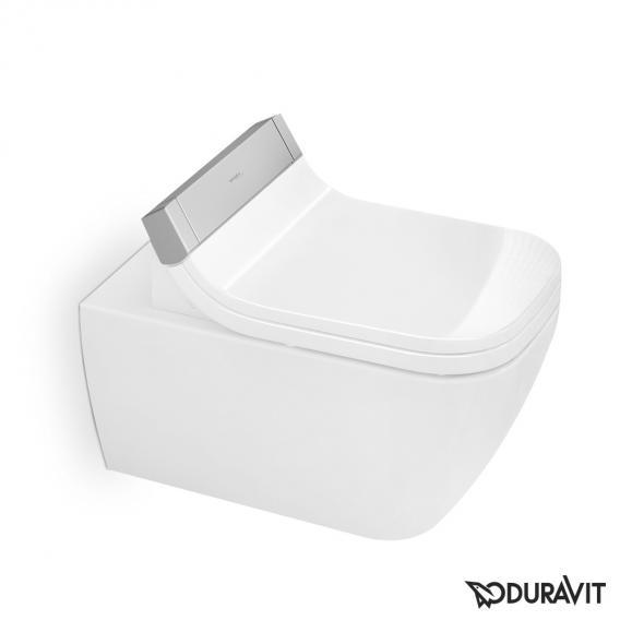 Duravit Happy D.2 Wand-Tiefspül-WC für SensoWash® rimless, verlängerte Ausführung weiß