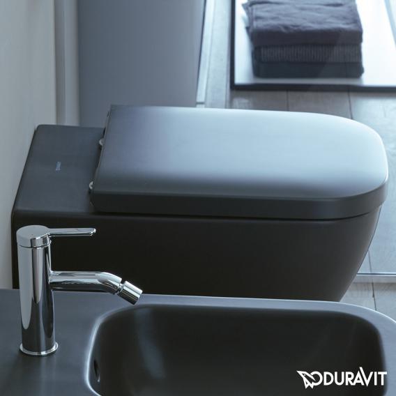 Duravit Happy D.2 Wand-Tiefspül-WC ohne Spülrand, anthrazit