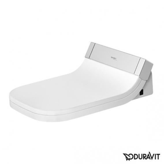 Duravit Happy D.2 Wand-Tiefspül-WC Rimless mit SensoWash® Starck e WC-Sitz, Set weiß mit WonderGliss