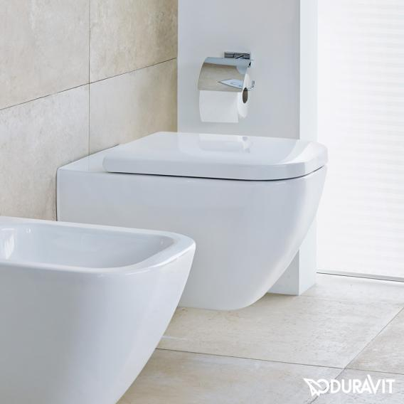 Duravit Happy D.2 Wand-WC, rimless weiß