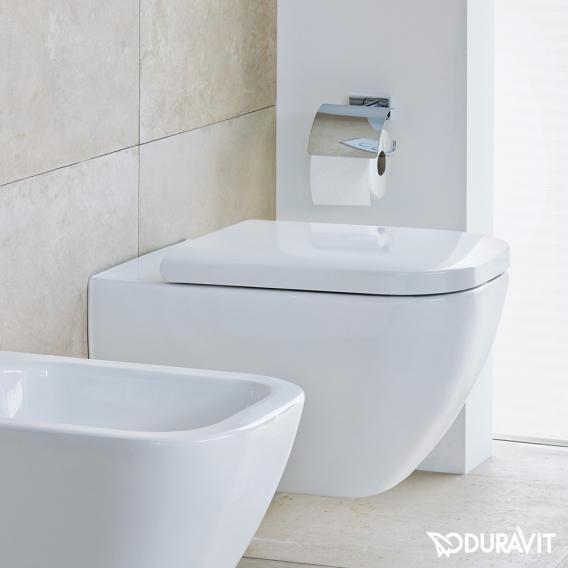 Duravit Happy D.2 WC-Sitz, verlängerte Ausführung ohne Absenkautomatik soft-close