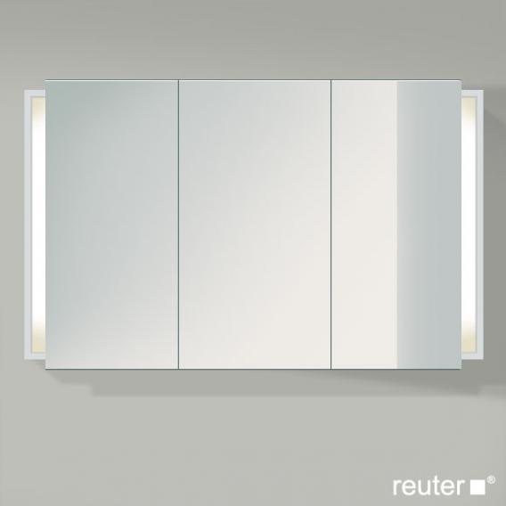 Duravit Ketho Spiegelschrank mit Beleuchtung weiß matt