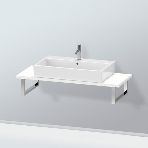 Duravit L-Cube Konsole für 1 Aufsatz-/Einbauwaschtisch weiß matt