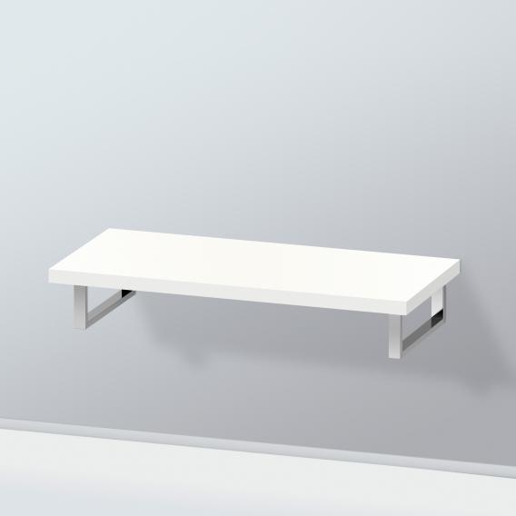 Duravit L-Cube Konsole ohne Ausschnitt für Aufsatz-/Einbauwaschtisch weiß hochglanz