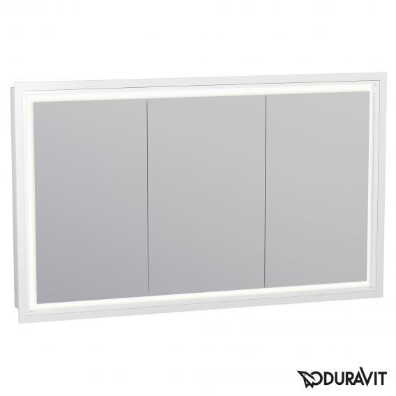 Duravit L-Cube Wandeinbau Spiegelschrank mit LED-Beleuchtung