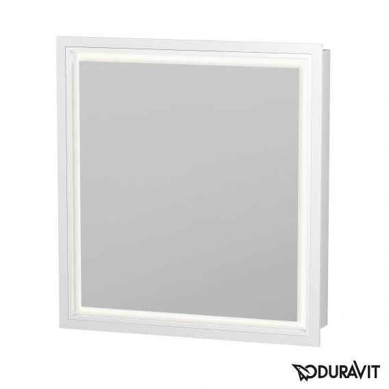 Duravit L-Cube Wandeinbau Spiegelschrank mit LED-Beleuchtung Anschlag links