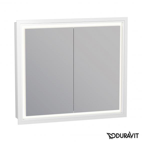 Duravit L-Cube Spiegelschrank mit LED-Beleuchtung, 2-türig Anschlag links/rechts