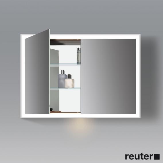 Duravit L-Cube Spiegelschrank mit LED-Beleuchtung mit Waschplatzbeleuchtung