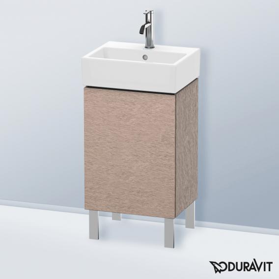Duravit L-Cube Waschtischunterschrank mit 1 Tür Front eiche kaschmir / Korpus eiche kaschmir
