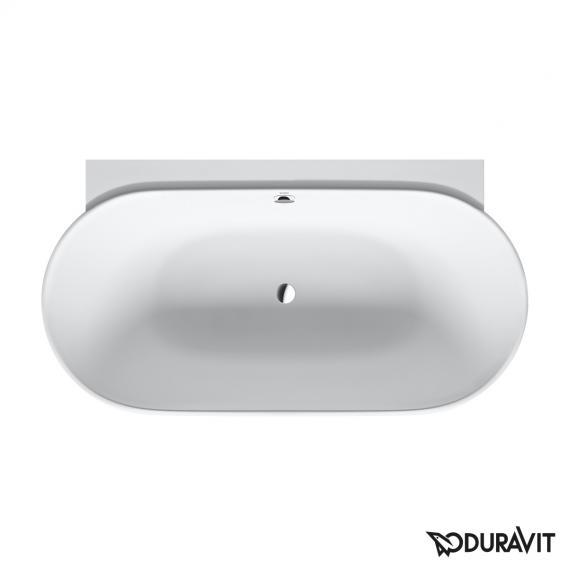 Duravit Luv Badewanne mit Verkleidung, Vorwandversion ohne Wannenrandbohrung