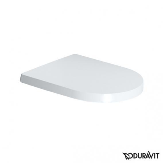 Duravit ME by Starck Wand-Tiefspül-WC Compact Set, rimless, mit WC-Sitz weiß