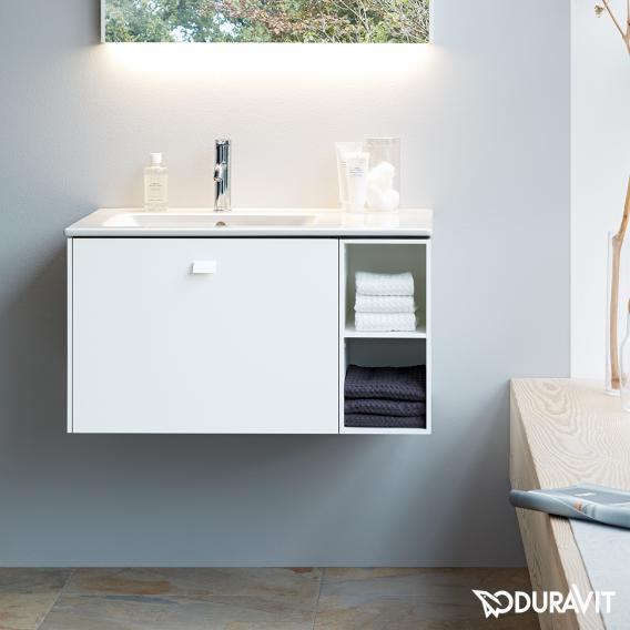 Duravit ME by Starck  Möbelwaschtisch weiß, mit 1 Hahnloch