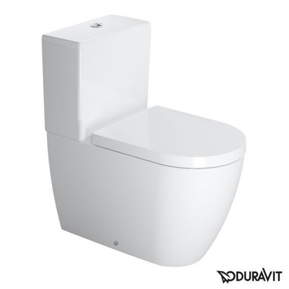 Duravit ME by Starck Stand-Tiefspül-WC für Kombination weiß, mit WonderGliss