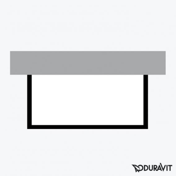Duravit P3 Comforts Möbelverkleidung für Bade-/Whirlwanne, Vorwandversion