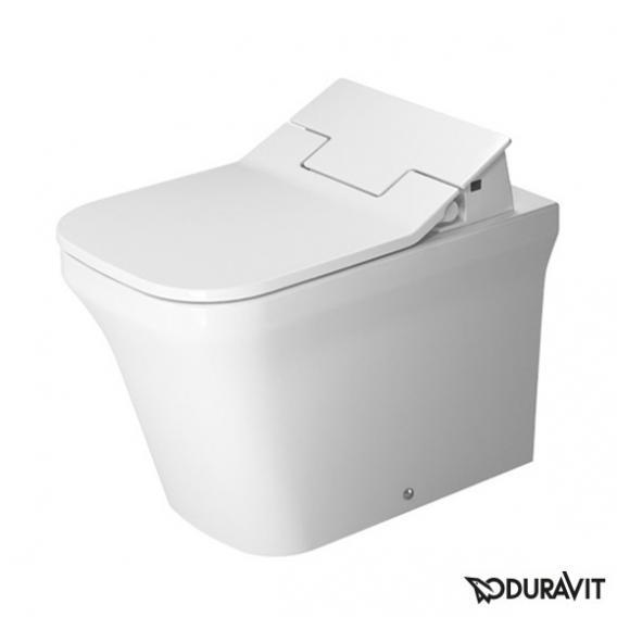 Duravit P3 Comforts Stand-Tiefspül-WC für SensoWash®, back to wall, rimless weiß