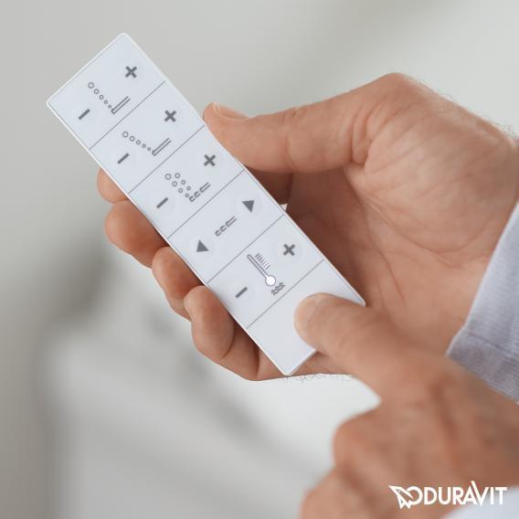 Duravit der NEUE SensoWash® Slim Dusch WC-Sitz mit Entkalkungsfunktion
