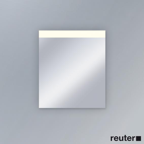 Duravit Spiegel mit LED Randlichtfeld oben Best-Version
