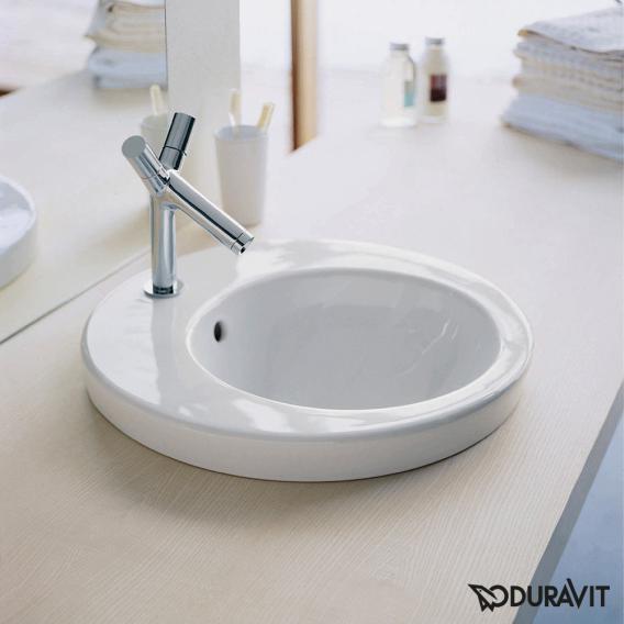 Duravit Starck 2 Einbauwaschtisch weiß