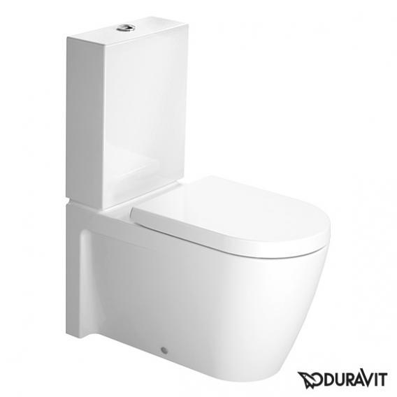 Duravit Starck 2 Stand-Tiefspül-WC für Kombination weiß