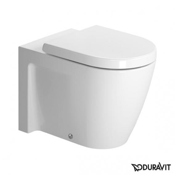 Duravit Starck 2 Stand-Tiefspül-WC weiß, mit WonderGliss