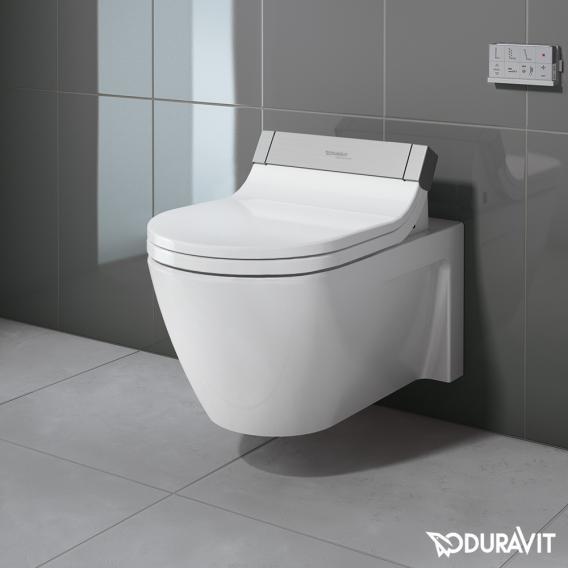 Duravit Starck 2 Wand-Tiefspül-WC für SensoWash® weiß