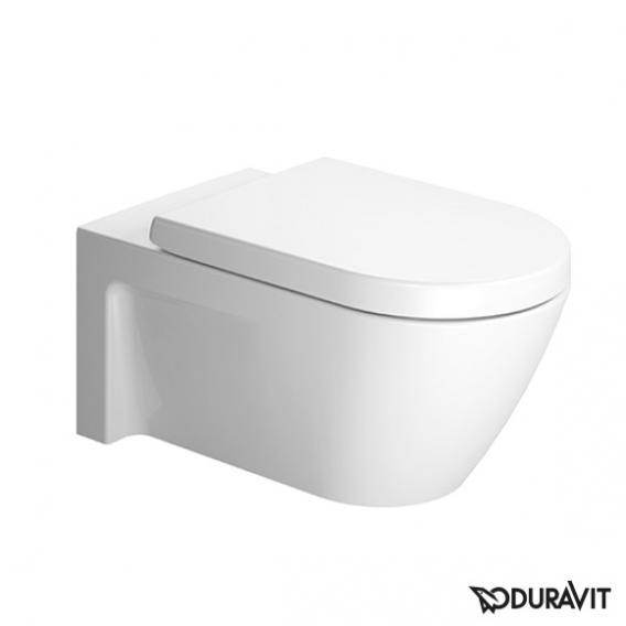 Duravit Starck 2 Wand-Tiefspül-WC weiß, mit WonderGliss