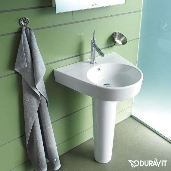 Duravit Starck 2 Waschtisch weiß, mit WonderGliss, mit 1 Hahnloch