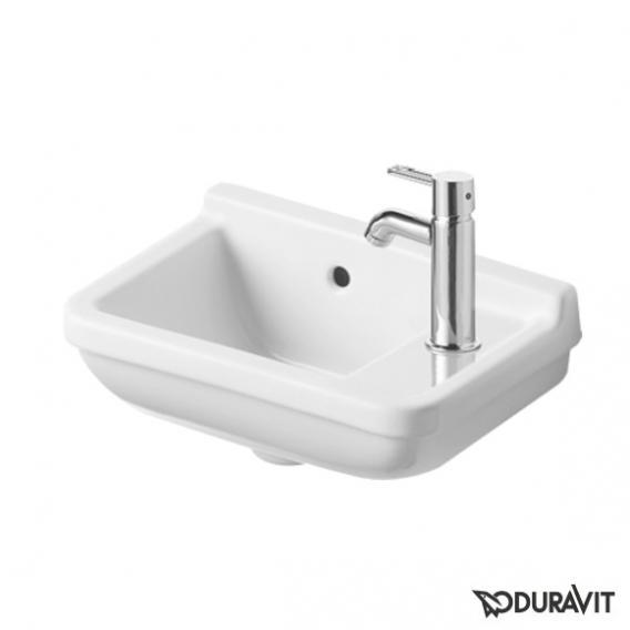 Duravit Starck 3 Handwaschbecken weiß, mit 1 Hahnloch