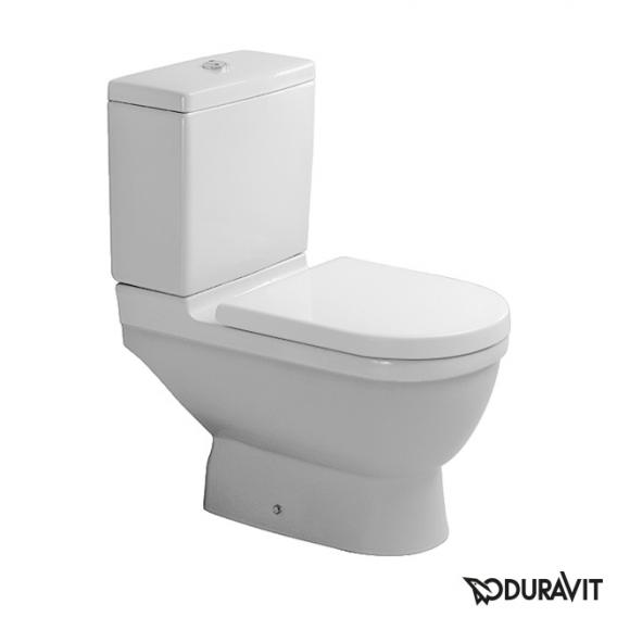 Duravit Starck 3 Stand-Tiefspül-WC für Kombination weiß, mit WonderGliss, Abgang senkrecht