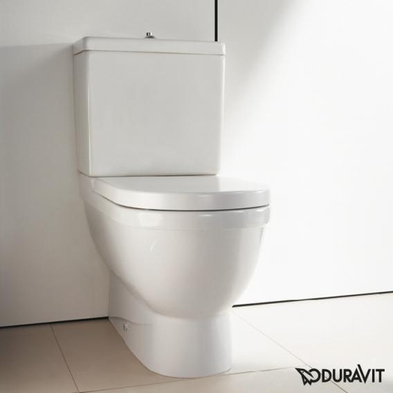Duravit Starck 3 Stand-Tiefspül-WC für Kombination weiß