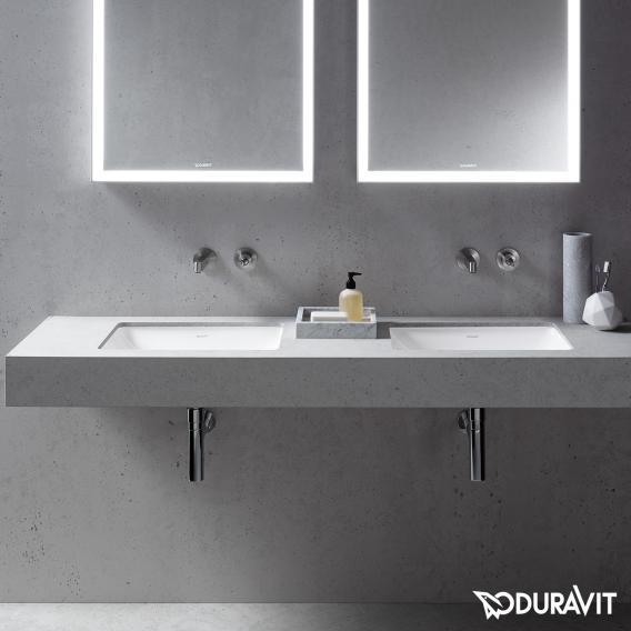 Duravit Starck 3 Unterbauwaschtisch weiß, mit WonderGliss