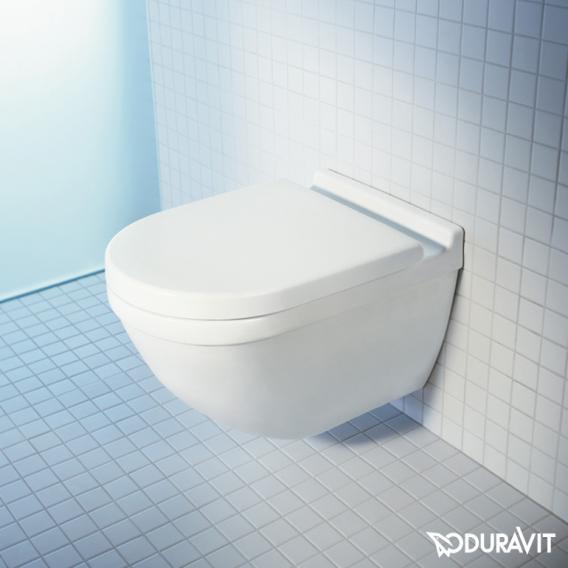 Duravit Starck 3 Wand-Tiefspül-WC rimless weiß, mit WonderGliss