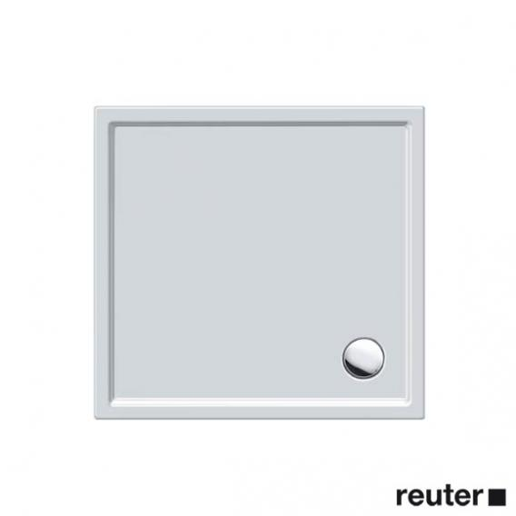 Duravit Starck Slimline Duschwanne Quadrat ohne Schürze weiß